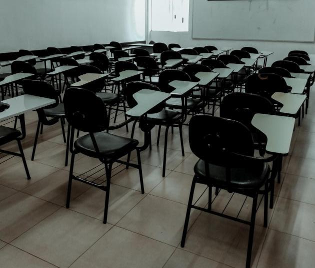 Sala de aula - Por Ester Cavalcante